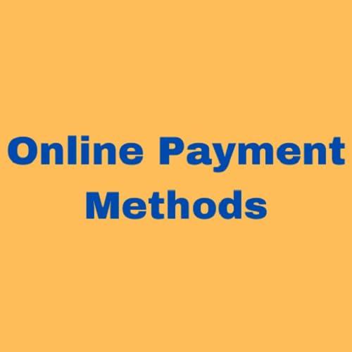 Modes de paiement en ligne