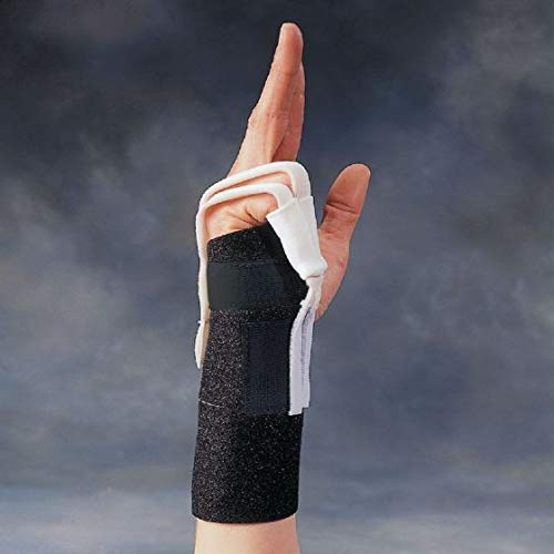 Sammons Preston Dorsal Flexion Hood Attachment, Short, Soft, Secure and Supportive Finger Flexion Glove, Fingertip Cover Brace Helps Increase Passive Joint Movement of The MCP, PIP, and DIP Joints