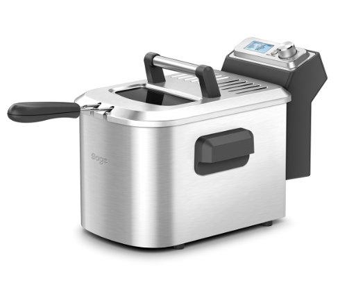 Sage BDF500UK the Smart Deep Fryer with Automated Smart Menu - Silver