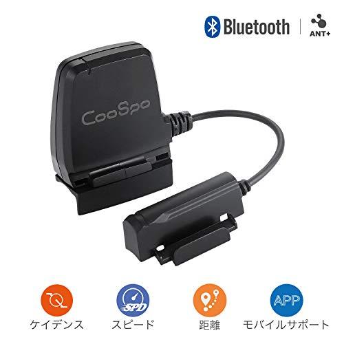 NEWOKE CooSpo BK8 スピードケイデンスセンサーBluetooth 4.0およびANT +ワイヤレスはiPhone Android自転車コンピューター用に防水IP67