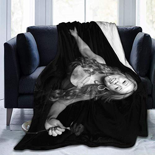 chenjian Ma-Riah Ca-Rey - Manta de forro polar ultra suave de franela para cama de 152 x 122 cm