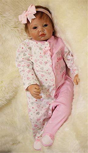 ZIYIUI Bebe Reborn Silicona muñecas niñas Originales Muñecos Reborn Realista Toddler Recien Nacidos niño Verdadero Baratos Bebes Reborn 55cm