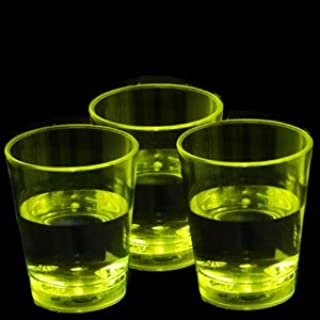 Fun Central LED Liquid Activated Shot Glass - Light Up Party Supplies for Bar and Parties - Yellow