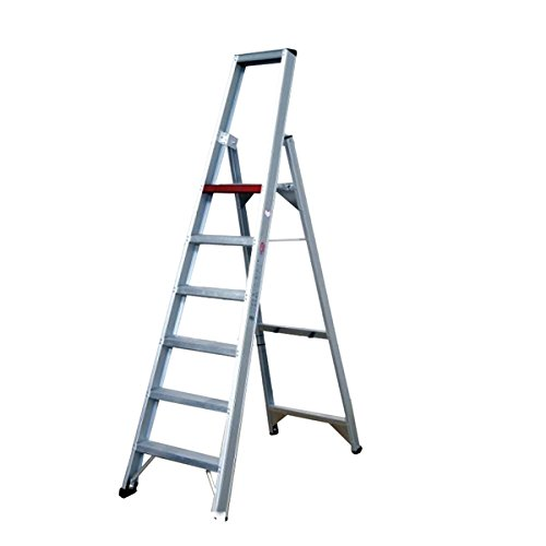 Altrex 0000488 aluminium ladder voor industriële toepassingen, brede treden, aantal treden: 1 x 6