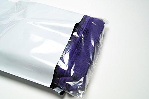 Folienmailer® Versandbeutel C4: Plastik Versandtaschen 250x350mm, selbstklebend und blickdicht, Versandtüten aus Plastik für Kleidung und Textilien (100)