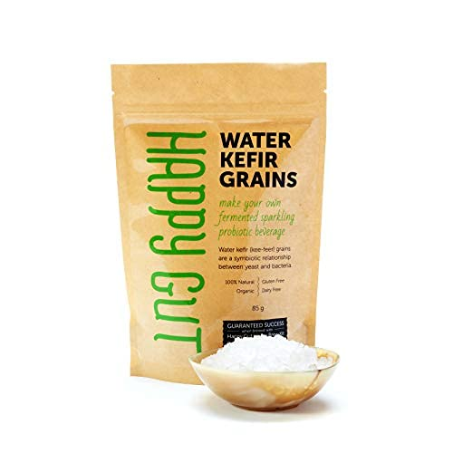 Water kefir grains - By Happy Gut Pro.