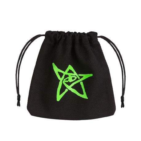 Q Workshop Call of Cthulhu Black & Green Dice Bag