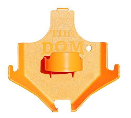 CSI Creative Sport Innovations Dugout Organizer for Softball & Baseball Gear Hanger for Bat, Glove, Helmet and Bottle of Water- The DOM - Orange
