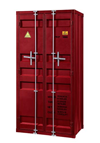 ACME Cargo Wardrobe (Double Door) - - Red