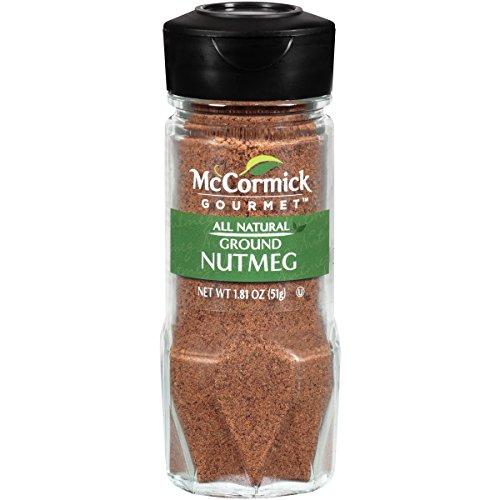McCormick Gourmet Collection, Ground Nutmeg, 1.81-Ounce Unit