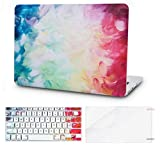 KECC Laptop Case Compatible with MacBook Pro 13' (2021/2020) w/Keyboard Cover Plastic Hard Shell A2338 M1 A2289 A2251 Touch Bar + Screen Protector 3 in 1 Bundle (Fantasy)