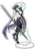 Pop Game Genshin Impact Xiao Acrilico Piedi Figura Bifacciale Trasparente Stand Miniatura ...