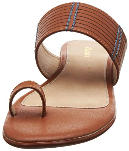 BATA Women May Toe Ring Slippers