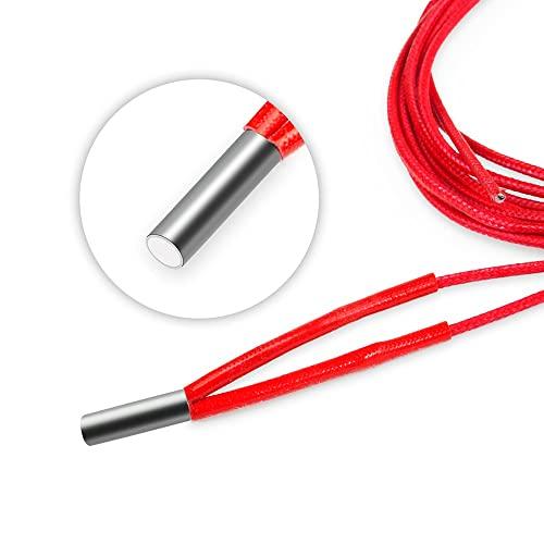 10pcs/ pack hoted 2 4V 40W. Riscaldatore estrusore a cartuccia riscaldatore rosso + 10 0K NTC 3950K. Termistore for Ender 3 PRO Accessorio for stampante 3D (Color : Combination)