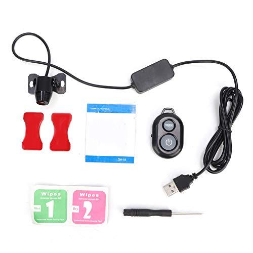 Akozon Star Plafondlamp, IPX4, waterdicht, universeel autodak, rode sterrenhemel, USB-geluid, afstandsbediening, projectielamp, licht, sfeerverlichting