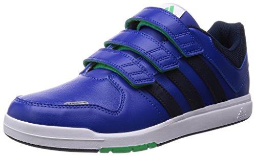 adidas LK Trainer 6 CF K - Zapatillas para niño, Color Azul Marino/Verde/Plata, Talla 30