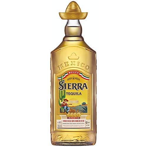 Sierra Tequila Reposado - Echter mexikanischer Tequila aus Jalisco (1 x 1,0l) - 9 Monate in Bourbon Fässern gereift