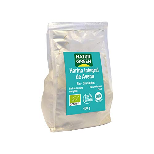 Harina de Avena Integral Bio Sin Gluten NaturGreen 400 g