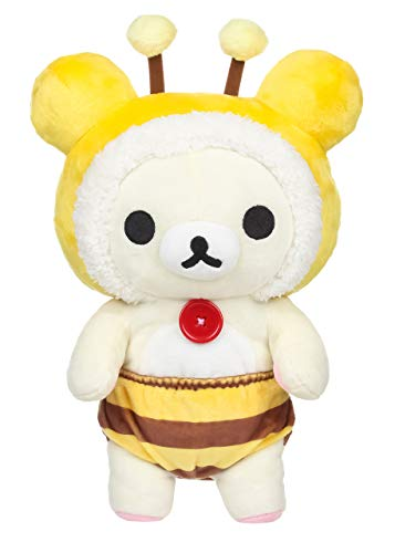 SAN-X KORILAKKUMA HONEYBEE COSTUME PLUSH