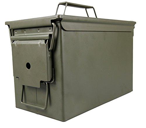 MEIERLE & Söhne Munitions Kiste Metall Neu mit Dichtungen Qualitätsarbeit Munitionsbox Munitionskiste Aufbewahrung US Munitionskiste