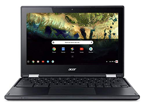 Sale!! Acer Chromebook R 11.6 in HD Multi-Touch Screen Convertible Laptop, Webcam, Intel Celeron N3060, 4GB RAM, 32GB eMMC SSD, Google Chrome OS (Black Color), 11-11.99 inches
