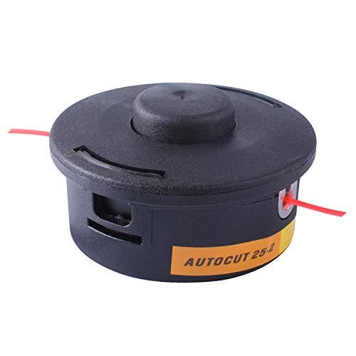 Poweka AutoCut 25-2 Bump Feed Trimmer Head for Stihl FR106/ FR108/ FR130T FR350 FT100 FS44 / FS48 / FS50 / FS55 / FS70 / FS80 / FS90 / FS100 / FS110 / FS130 Replace 4002-710-2191, 4002 713 9608