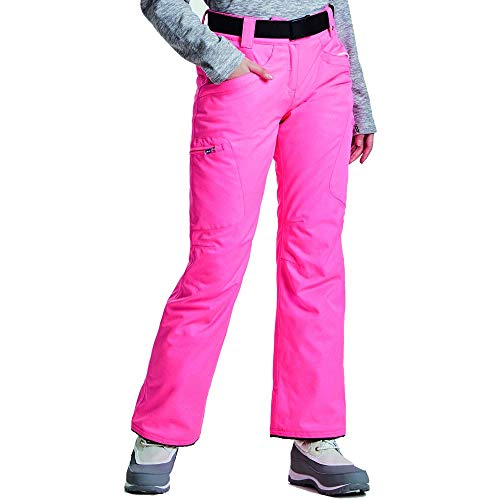 Dare 2b Free Scope II Damen Skihose, wasserdicht und atmungsaktiv, isoliert, Rosa (Luminous Pink), EU 38