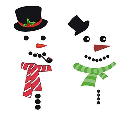 SIRIGOGO - Imanes de Navidad para Nevera, autoadhesivos, Grandes, para decoración de casa de Navidad, Nevera, Puerta de Metal, Garaje, armarios