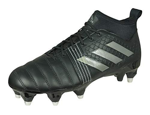 adidas Kakari Force, Zapatillas de Rugby para Hombre, (Negbas/Nocmét/Negbas), 40 2/3 EU