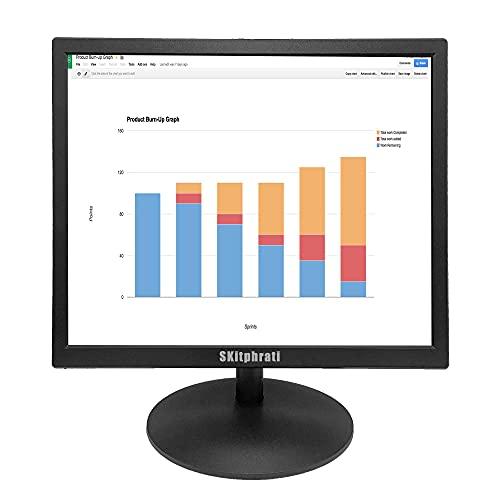 SKitphrati 17 Inch PC Monitor HDMI Monitor 1280 X 1024 LED Monitor with 72% sRGB Color...