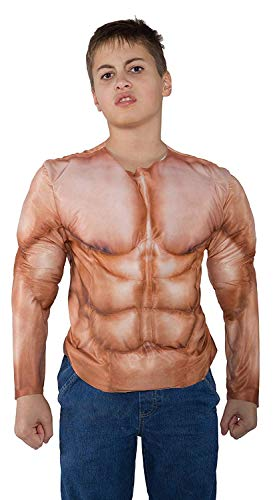 UNDERWRAPS - Muskel Shirt Top für Kinder Größe 122-134 26172