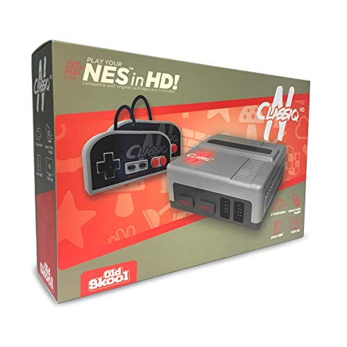 Old Skool CLASSIQ N HD Console Compatible with NES- Clone