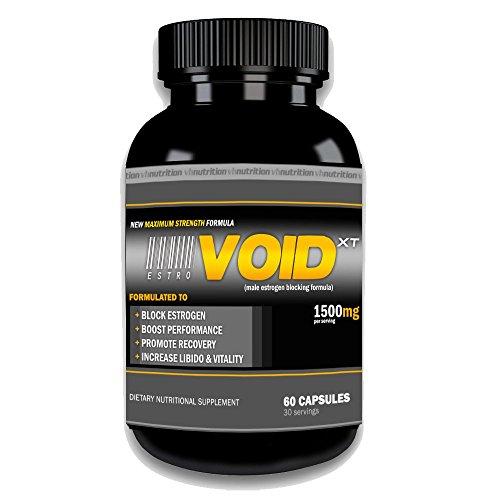 EstroVoid XT Estrogen Blocker for Men   Aromatase Inhibitor, Anti Estrogen, and Testosterone Booster