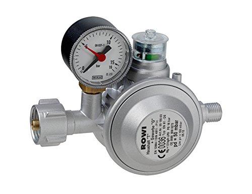 Rowi Gas Druckregler mit doppelter Überdrucksicherung; HGD 1/2 D 3 03 02 0002