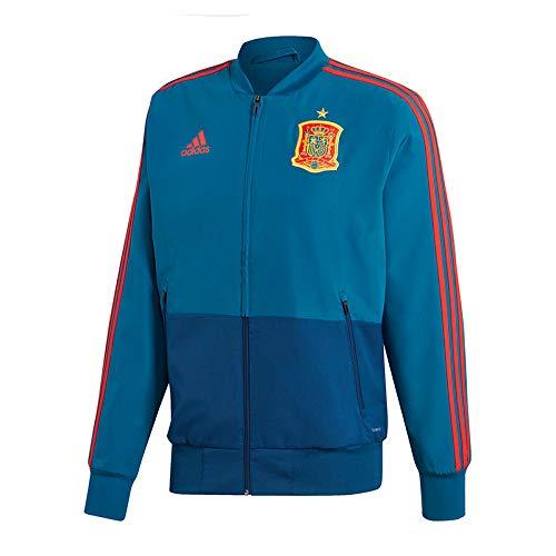 adidas Fef Pre Jkt Chaqueta, Hombre, Azul/Rojo (azutri), S
