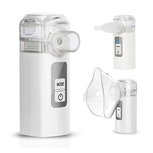 MAYLUCK Handheld Mini Nebuliser Portable Nebulisers for Travel Home Daily Use
