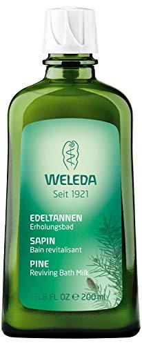 WELEDA Edeltannen Erholungsbad, Naturkosmetik Bio Bade Essenz mit ätherischen Ölen von Fichten und Edeltannen zur Entspannung und Pflege, Badezusatz für innere Kraft (1 x 200 ml)