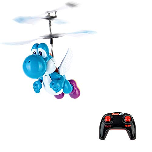 Carrera RC Nintendo Super Mario(Tm) - Flying Yoshi, Light Blue 370501036 Ferngesteuerter Helicopter