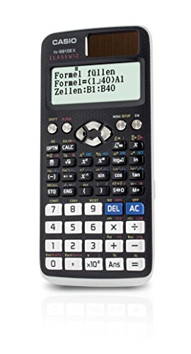 Casio FX-991DE X Scientific Calculator with Natural Display (only German language)