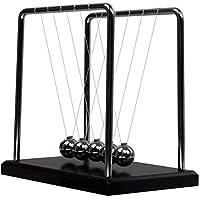 Newtonpendel sind klassische Schreibtisch-Spielzeug; Es auch bekannt als kugelspiel pendel, Newtons Cradle, Newton Wiege, Perpetuum mobile. Hoch: 180 mm, Gewicht: über 0,8 kg, Mode, modernes Design,Metall Handwerk Geschenk. Newtons Cradle ist eine ze...