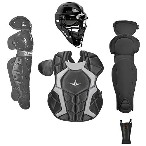 All-Star CKCC912PSBK Player's Series Catching Kit/Meets NOCSAE/Ages 9-12 BK