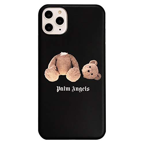 2-Pack De Palm Angels Caso iPhone 11, para iPhone 11/11 Pro/Pro 11 MAX Suave De La Caja TPU De Silicona con Oso Impresión De La Pintada