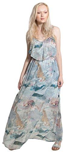 Smash! Damen Mary Festtagskleid, Blau (L. Blue), Large