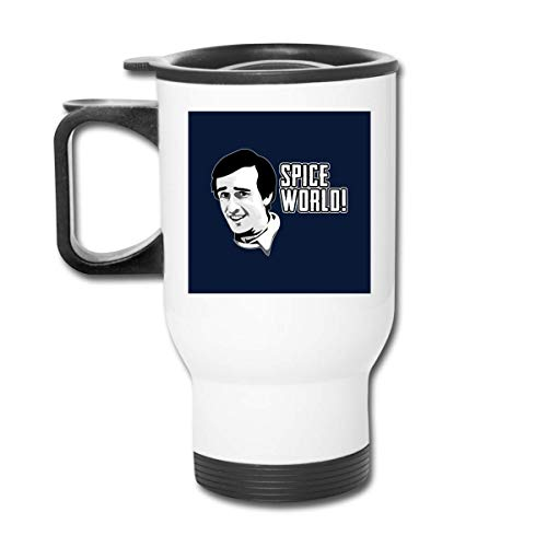 Yuanmeiju Tazza per Auto Alan Partridge Spice World Quote Stainless Tumbler Double Wall Vacuum Coffee Mug with Splash Proof Lid for Hot & Cold Drinks