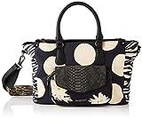 Desigual Fabric Hand Bag, Mano Mujer, Negro, U