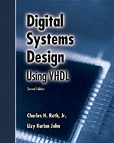 Digital Systems Design Using VHDL