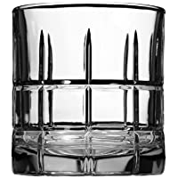 Set of 12 Anchor Hocking Manchester Rocks Old Fashioned Whiskey Glasses, 10.5 oz
