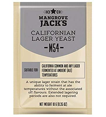 Mangrove Jack's Craft Series Yeast M54 Californian Lager (10g)