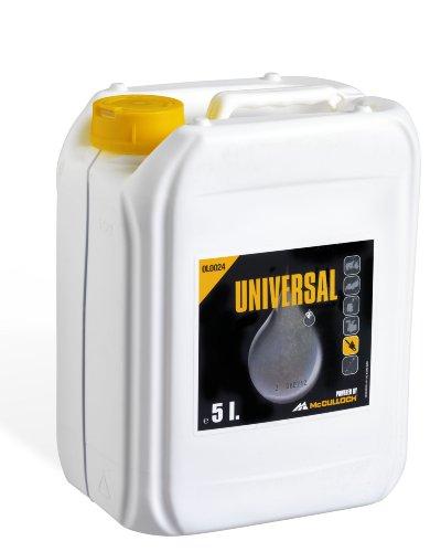 Universal Kettenhaftöl mineral. 5 L, OLO024: Ketten-Haftöl für Motorsägen, hohe Schmierwirkung, auf Basis mineralischer Grundöle, biologisch abbaubar (Artikel-Nr. 00057-76.164.24)
