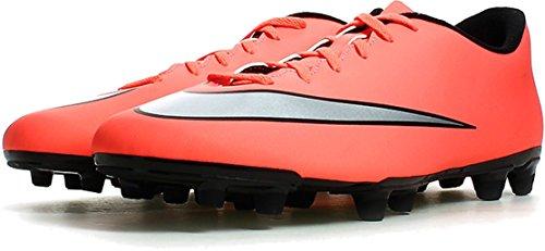 Nike Herren Mercurial Vortex II FG Fußballschuhe, Gelb Silber Grün Brght MNG Mtllc Slvr Hypr TRQ, 42.5 EU